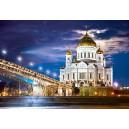 Пазл - Храм Христа Спасителя, Росія