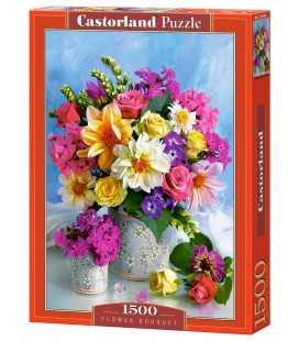 Пазл - Букет цветов (Castorland) 1500 эл.