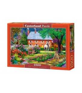 Пазл - Прекрасный сад (Castorland) 1500 эл.