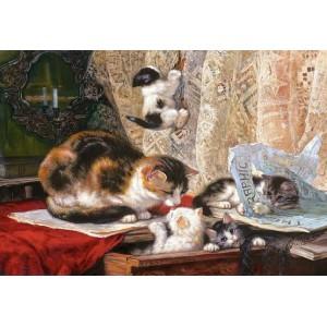 Пазл - Шкодливые котята (Castorland) 1000 эл.