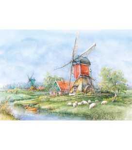 Пазл - Село, Голландія (Castorland) 1000 ел.