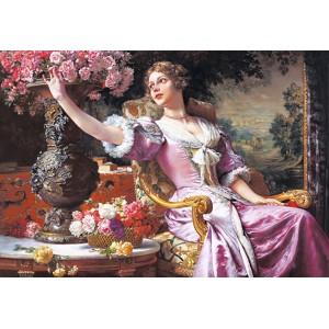 Пазл - Леді в пурпуровій сукні (Castorland) 3000 ел.
