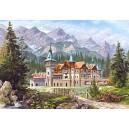 Пазл - Замок біля підніжжя гір