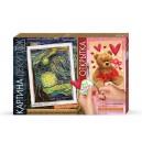 Картина декупаж - Звездная ночь  + открытка (Danko-Toys)