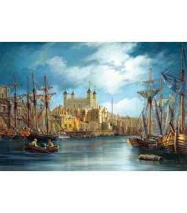 Пазл - Новий день у порту (Castorland) 3000 ел.