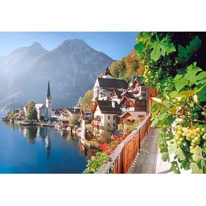 Пазл - Hallstatt, Австрия (Castorland) 2000 эл.