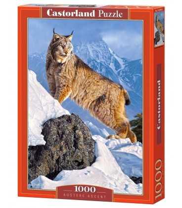 Пазл - Рысь на горном склоне (Castorland) 1000 эл.