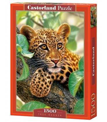 Пазл - Леопард на дереві (Castorland) 1500 ел.
