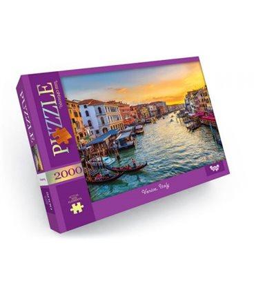 """Пазлы """"Венеция: Италия"""", 2000 элементов C2000-01-04"""
