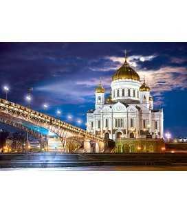 Пазл - Храм Христа Спасителя, Росія (Castorland) 1500 ел.