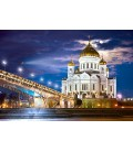 Пазл - Храм Христа Спасителя, Россия (Castorland) 1500 эл.