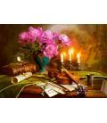 Пазл - Натюрморт зі скрипкою і квітами (Castorland) 1500 ел.