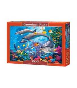 Пазл - Секреты рифов (Castorland) 1500 эл.