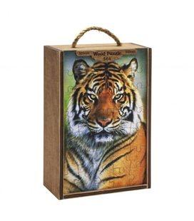 "Деревянные пазлы ""Тигр"", 504 эл 1013"