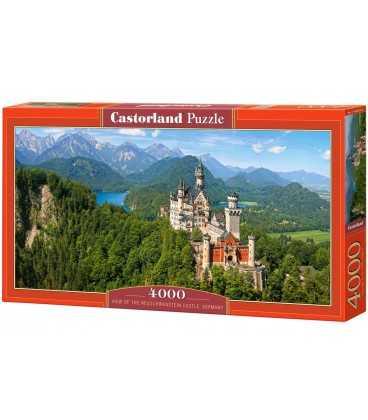 Пазл - Вид на замок Нойшванштайн (Castorland) 4000 эл.
