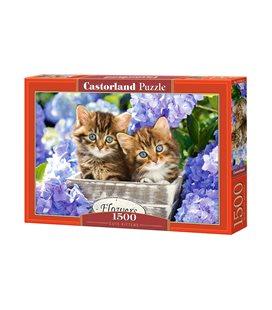 Пазл - Симпатичные котята(Castorland) 1500 эл.