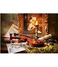Пазл - Натюрморт зі скрипкою і живописом (Castorland) 1000 ел.