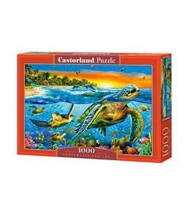 Пазл - Підводні черепахи (Castorland) 1000 ел.