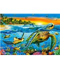 Пазл - Подводные черепахи (Castorland) 1000 эл.