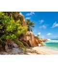 Пазл - Райський пляж на Сейшелах (Castorland) 2000 ел.