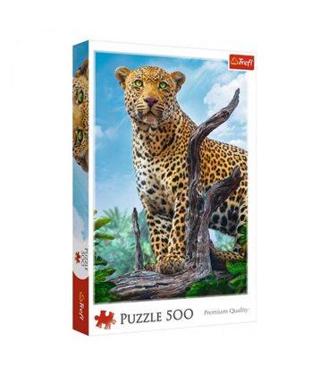 """Пазлы """"Дикий леопард"""", 500 элементов"""