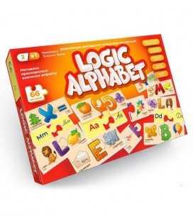 """Развивающие пазлы """"Logic Alphabet"""", англо-русский"""