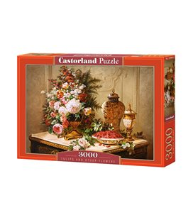 Пазл - Тюльпаны и другие цветы (Castorland) 3000 эл.