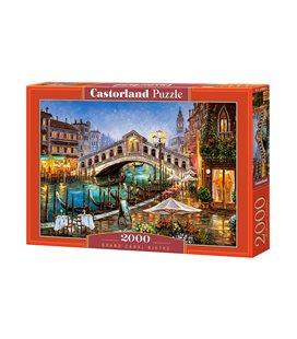 Пазл - Бістро Великого каналу (Castorland) 2000 eл.