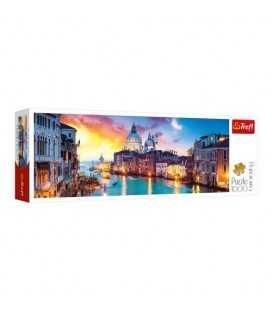 """Пазлы """"Гранд Канал. Венеция"""" (1000 элм. панорама)"""