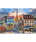 Пазл - Улицы Парижа (Castorland) 500 эл.