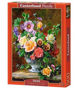 Пазл - Квіти в вазі (Castorland) 500 eл.