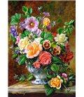 Пазл - Цветы в вазе (Castorland) 500 эл.