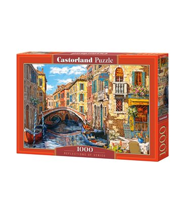 Пазл - Отражения Венеции (Castorland) 1000 эл.