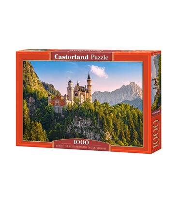 Пазл - Вид замка Нойшванштайн, Германия (Castorland) 1000 эл.