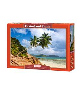 Пазл - Тайский пляж, Сейшельские острова (Castorland) 1000 эл.