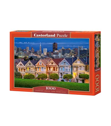 Пазл - Пофарбовані дами, Сан-Франциско (Castorland) 1000 eл.