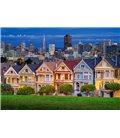 Пазл - Окрашенные дамы, Сан-Франциско (Castorland) 1000 эл.