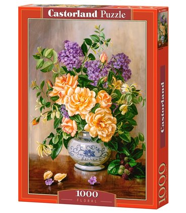 Пазл - Цветочный (Castorland) 1000 эл.