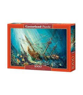 Пазл - Морское сокровище (Castorland) 1000 эл.