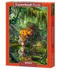 Пазл - Тигр в джунглях (Castorland) 1000 eл.