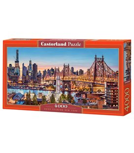 Пазл - Добрий вечір Нью-Йорк (Castorland) 4000 eл.