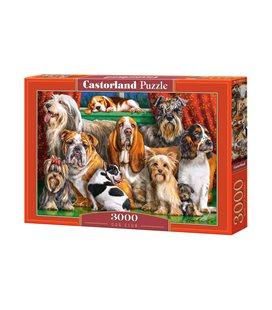 Пазл - Клуб собак (Castorland) 3000 эл.