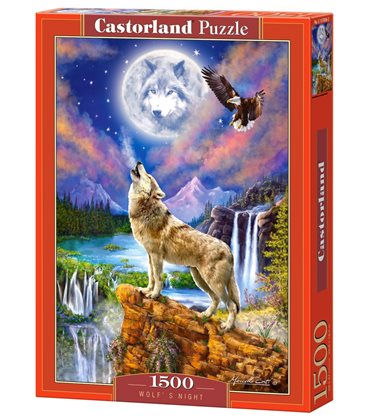 Пазл - Ночь Волка (Castorland) 1500 эл.