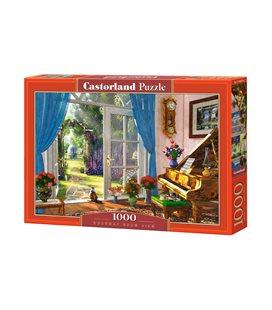 Пазл - Вид на дверной проем (Castorland) 1000 эл.