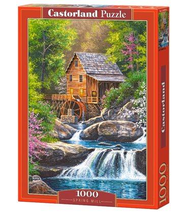 Пазл - Весенняя мельница (Castorland) 1000 эл.