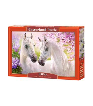 Пазл - Романтические лошади (Castorland) 1000 эл.
