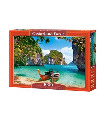 Пазл - Пхи-Пхи-Ле, Таиланд (Castorland) 1000 эл.