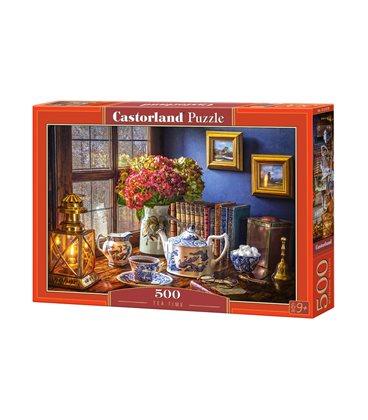 Пазл - Время чая (Castorland) 500 эл.