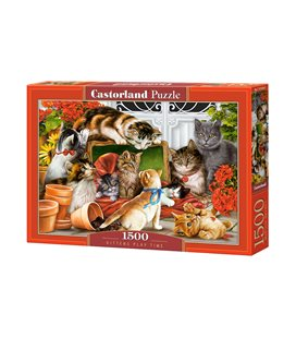 Пазл - Котята играют (Castorland) 1500 эл.