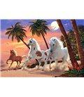 Пазл - Белые лошади (Castorland) 1500 эл.